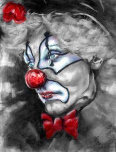 Sad Crying Clown   Sad Chicano Clowns The sad clown v.2 by toby77