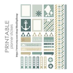 Mee scrapbook kits free download: Free mini scrapbook kit and new section in my store-PLANNER STICKERS! :D