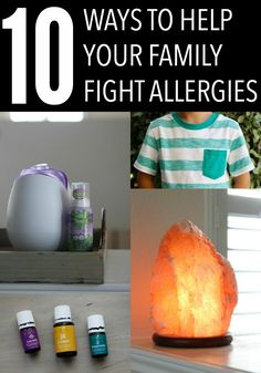 Lots of practical tips and easy to do ways to help your family fight allergy symptoms this season