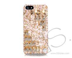 Symmetric Swarovski Crystal iPhone 5 Case