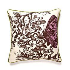 Thomas Paul Violet Metamorphosis Pillow TPPLN0034VIO