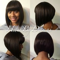 This bob with bangs!!