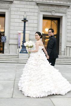 Bridal Gown Styles, Bridal Dress Design, Wedding Dress Styles, Dream Wedding Dresses, Bridal Style, Bridal Dresses, Wedding Gowns, Wedding Dress Cake, Lace Wedding Dress With Sleeves