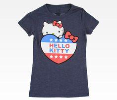 Hello Kitty for President!! Im getting this tshirt! <3