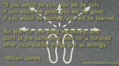 Williams James, Spiritual Wisdom, Self Improvement Tips, The One, Html, Wish, Advice, Inspirational Quotes, Positivity