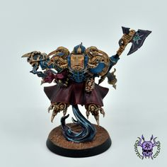 Thousand sons (Tzeentch) - Exalted Sorcerer #ChaoticColors #commissionpainting #paintingcommission #painting #miniatures #paintingminiatures #wargaming #Miniaturepainting #Tabletopgames #Wargaming #Scalemodel #Miniatures #art #creative #photooftheday #hobby #paintingwarhammer #Warhammerpainting #warhammer #wh #gamesworkshop #gw #Warhammer40k #Warhammer40000 #Wh40k #40K #chaos #warhammerchaos #warhammer40k #tzeentch #thousandsons #ExaltedSorcerer Thousand Sons, Warhammer 40000, Tabletop Games, Gw, Miniatures, Fantasy, Creative, Painting, Figurine