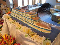 B2Ben's Blog: My biggest cake yet... Cruise Ship Cake