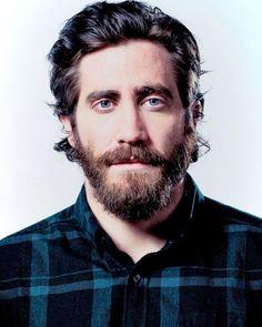 Jake Gyllenhaal, Guy Haircuts Long, Beard Boy, Beard Lover, Hipster Man, Boy Hairstyles, Hair And Beard Styles, Cinema, Baby Boys
