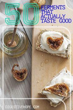 Fermented foods for kids Sweet Fig Cream Cheese www.digestivehope.com