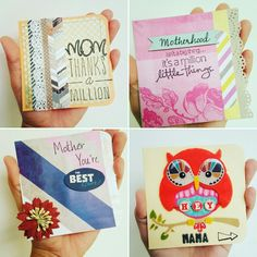 Some handmade Mother's day cards