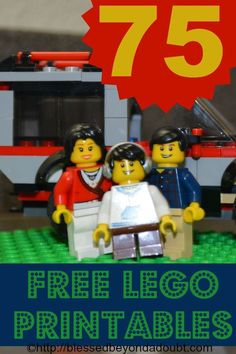 Who can resist LEGO Learning? Try these 75 awesome free LEGO printables!