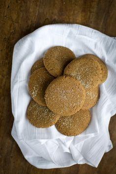 Vegan Coconut Butter Gingersnaps | The Vegan 8