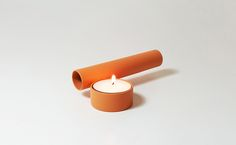 Cero Cero is a minimalist design created by Spain-based designer Kutarq Studio. Art Furniture, Furniture Design, Incense Holder, Candle Holders, Metal Pipe, Candels, Tea Light Holder, Rustic Interiors, Minimalist Design