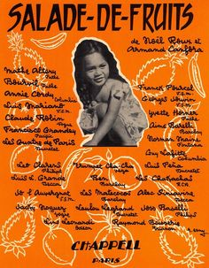 LOULOU LEGRAND - ARMAND CANFORY & NOEL ROUX - SALADE DE FRUITS - 1959 MUSIKNOTE
