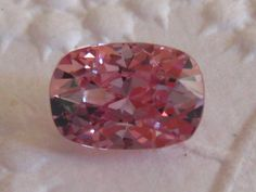 2+ Carat Precision Cut Padparadscha Peachy Pink Spinel: Nice Alternative to Morganite Engagement Ring, by JuliaBJewelry