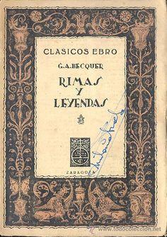 Rimas y Leyendas, Gustavo Adolfo Bécquer