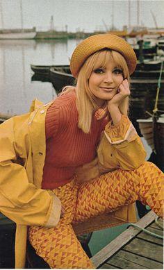 """Jeannette Christiansen, """"The Girls of Scandinavia,"""" Playboy - June 1968"""