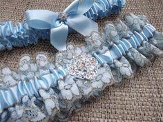 Something Blue Wedding Garter Set, Blue Lace Couture Bridal Garters from Weddingzilla on Etsy. Dream Wedding, Wedding Day, Wedding Things, Wedding Reception, Wedding Stuff, Renewal Wedding, Something Blue Wedding, Wedding Garter Set, Cowgirl Jewelry