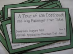 School Day Love: A Train Tour of the Northeast Great way to study US regions/places School Tool, School Days, School Stuff, Us Regions, Train Tour, 5th Grades, Fourth Grade, Textbook, Social Studies
