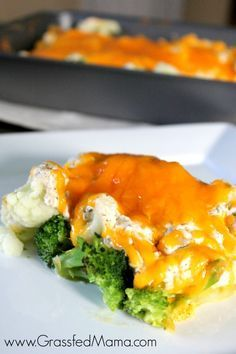 Can you believe this is low carb??? Low Carb Broccoli Tuna Casserole Bake - Grassfed Mama
