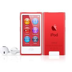 iPod nano (PRODUCT)RED - Apple Store (U.S.)