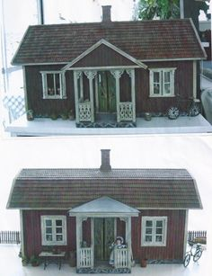 Swedish style dollhouse