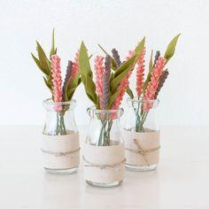 Mini foliage jars :) by sugarsnapboutique
