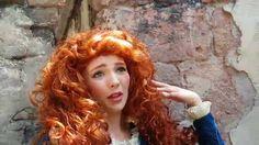 Visiting Merida at Disney World with Jenessa Schulz