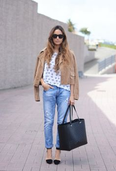 Mango jacket, Stradivarius bag