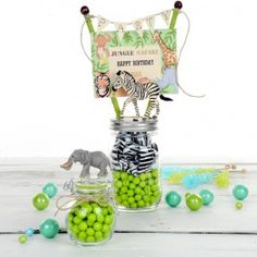 Crafts Zoo Lovers Party Jar