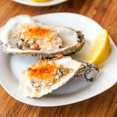 Easy to make delicious broiled #oysters at home in this incredibly spicy mayo #glutenfree pankp sauce