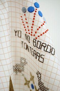 Blog | Karen Barbé | Textileria: Yo no bordo tonteras