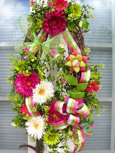 Spring and Summer Wreath.