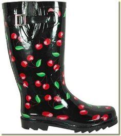 Cherries Rain boots