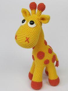 Žirafka Neli - návod
