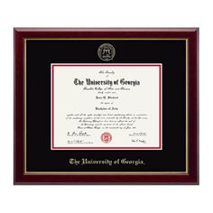Signature Announcements St.-Marys-University Undergraduate Sculpted Foil Seal Name /& Tassel Graduation Diploma Frame 16 x 16 Gold Accent Gloss Mahogany
