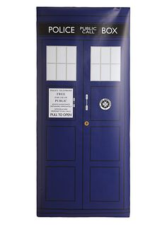 High Quality PVC Door Cling Of Doctor Whou0027s TARDIS! I So Want This For My  Door! Part 33