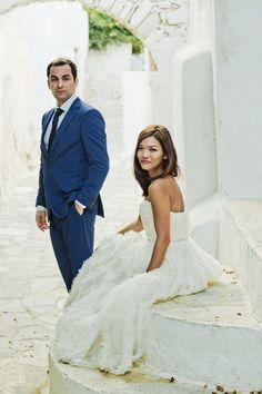 Photography by adoniskekidaks.gr  Read more - http://www.stylemepretty.com/2013/08/30/naxos-greece-destination-wedding-from-adonis-kekidakis-photography/