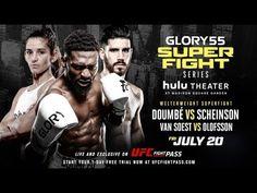 MMA GLORY 55 SuperFight Series: LIVE Tomorrow on UFC FIGHT PASS