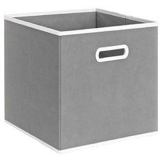 Varick Gallery Elwell Fabric Storage Drawer Color: Grey
