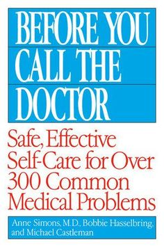 "An A-to-Z reference to the essentials of good home health care for more than300 ailments, symptoms, and health-related concerns Before You Call the Doctor is easy to follow, and it's organized to get youthe information you need—quickly. Does someone in your family have a headache? • Find headache listed alphabetically in Chapter 7, ""The Head and NervousSystem."" There, you'll learn about the three most common kinds of headachesand their causes in the #WartsOnHands"