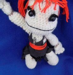 "Creepy Cute Crochet Dolls - ""Plush Sackgirl"" from Little Big Planet"