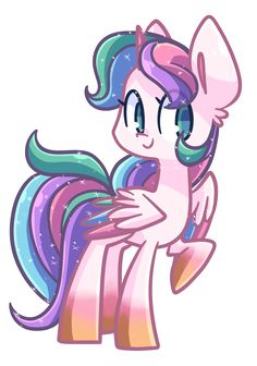 Rainbowjewel (ADOPTED) loves everything rainbow, loves nyan cat and is Jewelstar's cousin.