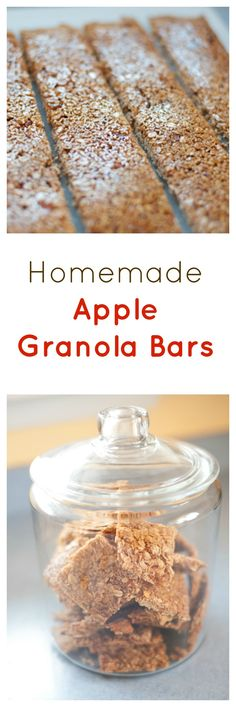 Homemade crunchy granola bars to fend off hungry kids with ...
