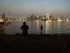 Toronto skyline , view from Center Island Toronto Skyline, New York Skyline, Island, Travel, Block Island, Voyage, Viajes, Traveling, Islands