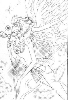 .cosmos: #manga #sailormoon #sailorcosmos