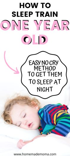 How to sleep train your 1 year old using positive parenting tips. This is a no cry method that works to get your toddler to sleep in the crib at night. Change your toddlers behavior using this… How Can I Sleep, Ways To Sleep, Good Night Sleep, Toddler Sleep, Baby Sleep, 1 Year Old Schedule, Kids And Parenting, Parenting Hacks, Crying It Out Method
