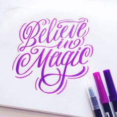 Lettering Week on the Tombow blog with Guest Designer Maia Then!