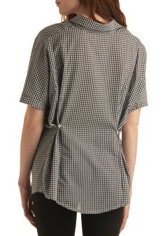 River Ride Top | Mod Retro Vintage Short Sleeve Shirts | ModCloth.com