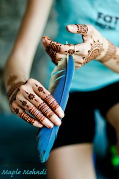 Henna and Feathers | Flickr